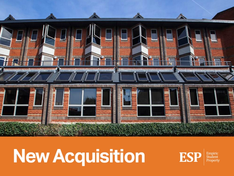 Empiric acquires student accommodation property in Reading: Saxon Court