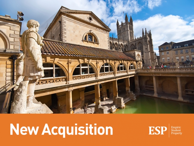 Empiric to acquire student property in Bath