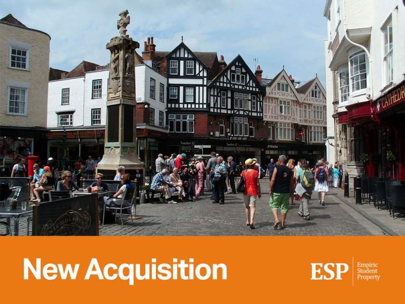 Empiric to acquire student accommodation scheme in Canterbury