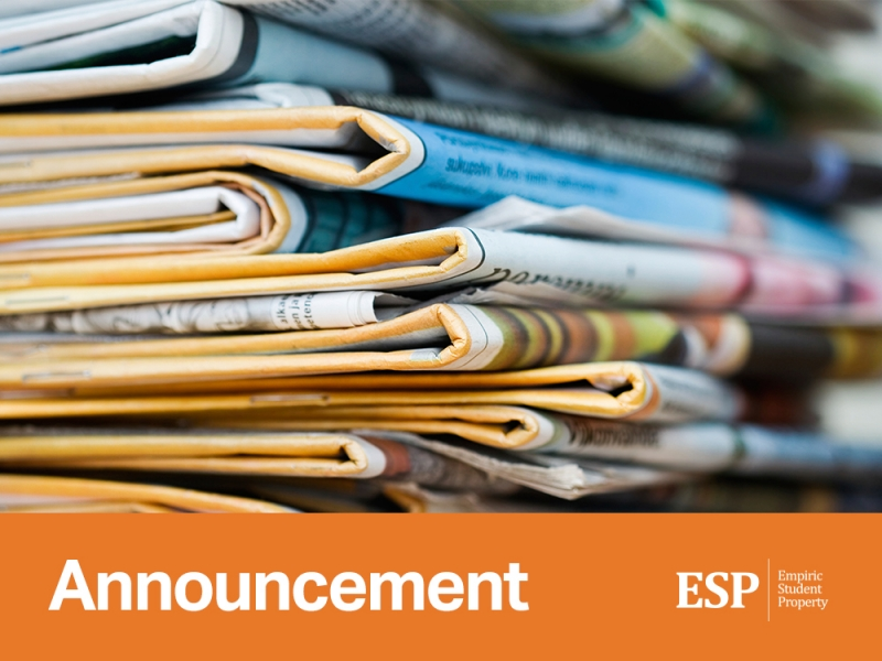 ESP will announce its interim results for the period 11 February 2014 to 31 December 2014 on Wednesday, 25 February 2015.