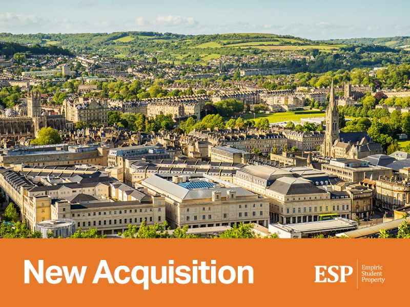 Empiric acquires student accommodation portfolio in Bath