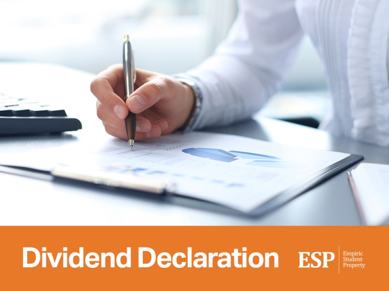 ESP have released their Dividend Declaration