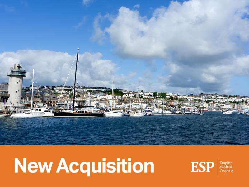 Empiric acquires student accommodation property in Falmouth