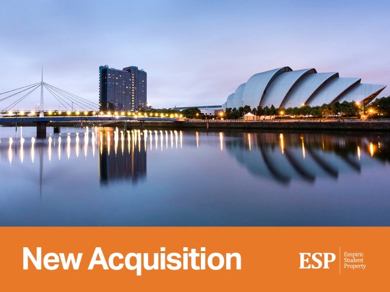 Empiric to acquire student accommodation in Glasgow