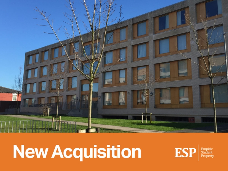 Empiric acquires student accommodation property in Manchester: Victoria Point