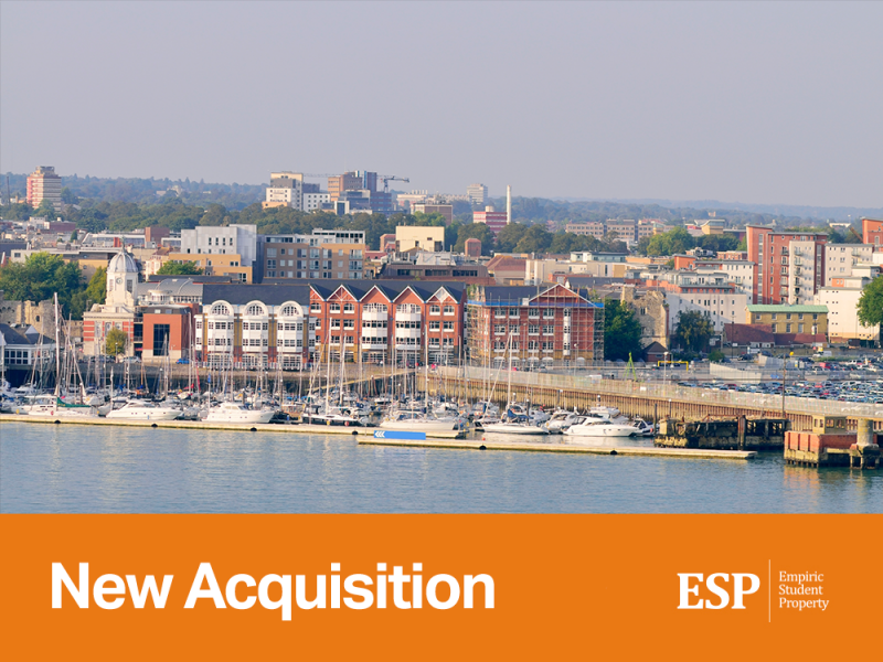Empiric acquires student accommodation property in Southampton: Emily Davies Hall