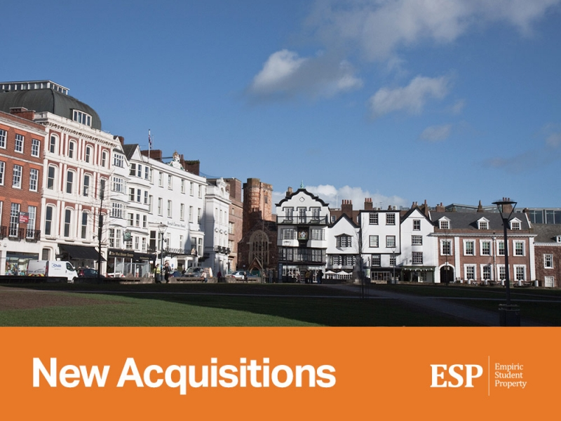 Empiric acquires student accommodation assets in London and Exeter