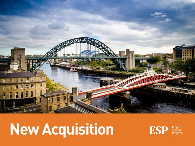 Empiric to acquire student accommodation property on practical completion in Newcastle