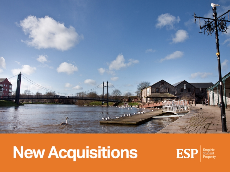 Empiric acquires a portfolio of five student accommodation assets in Exeter, Leicester and Portsmouth