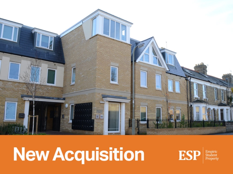 Empiric acquires student accommodation property in Oxford: Stonemason House