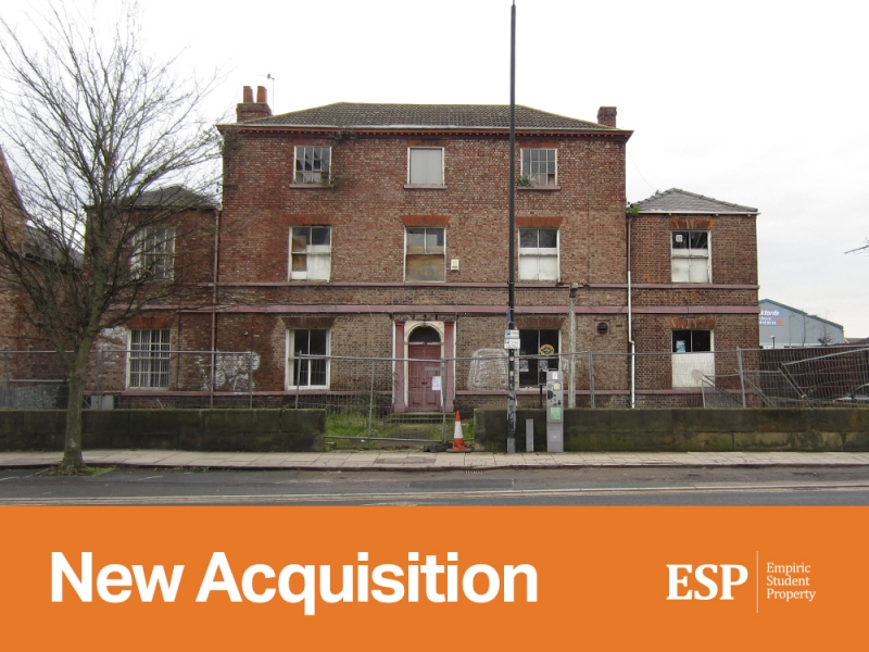 Empiric acquires student accommodation property in York: Lawrence Street